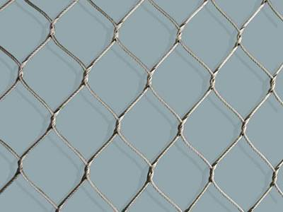 Stainless Steel Rope Mesh for Aviary in Zoo or Yards